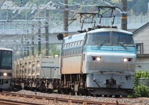 1072レスジ(9072レ?):UM12Aオンリー積載列車