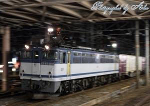 85レ(=EF65-2101牽引)