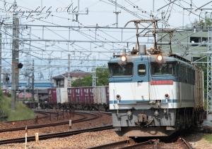 5087レ(=EF65-2089牽引)