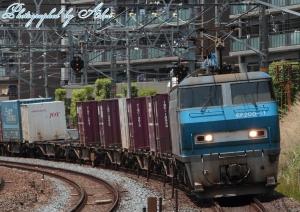 8056レ(=EF200-11牽引)
