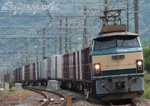 5070レ(=EF66-21牽引)