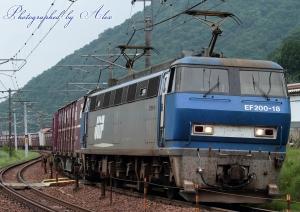 1091レ(=EF200-18牽引)