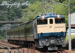 レトロ客車送り込み(=EF65-1131牽引)