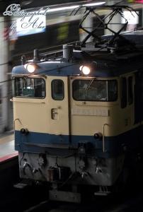 工8380レ(=EF65-1135牽引)