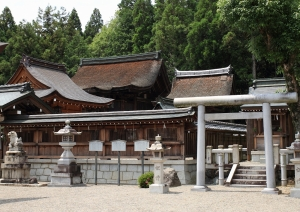 苗村神社・西本殿(国宝)
