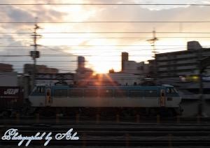 86レ(=EF66-102牽引)