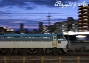 1080レ(=EF66-102牽引)