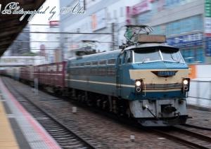 55レ(=EF66-27牽引)