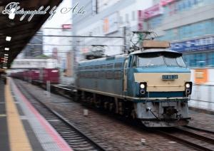 5065レ(=EF66-32牽引)
