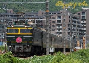 8002レ・トワイライトエクスプレス(=EF81-113牽引)