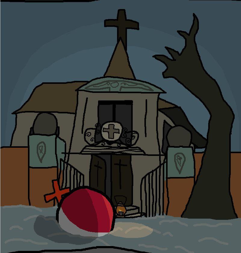 独りの教会で (2)