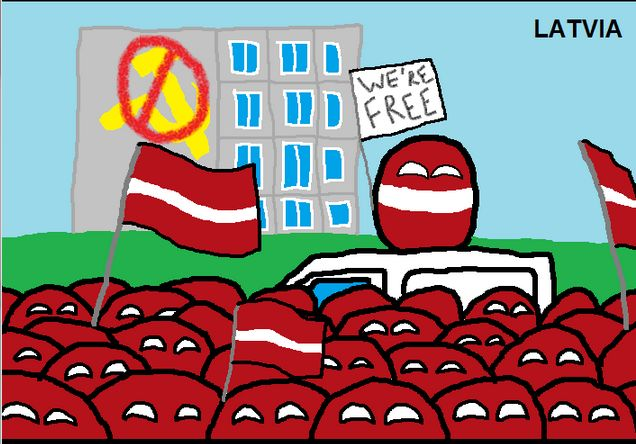 ソビエト終焉時のリアクション (2)