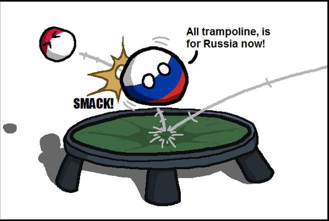 アメリカはトランポリンできない (2)