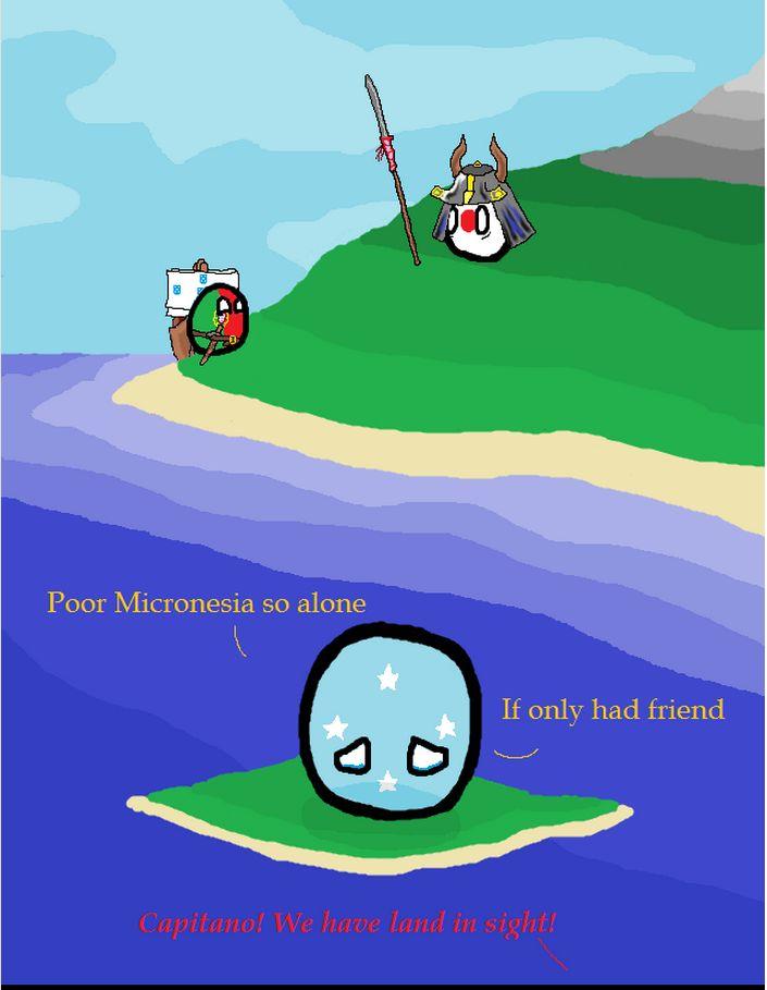 ミクロネシアは友達が欲しい (1)
