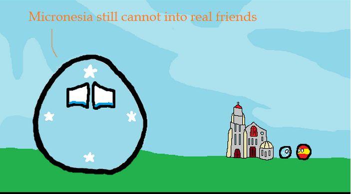 ミクロネシアは友達が欲しい (6)