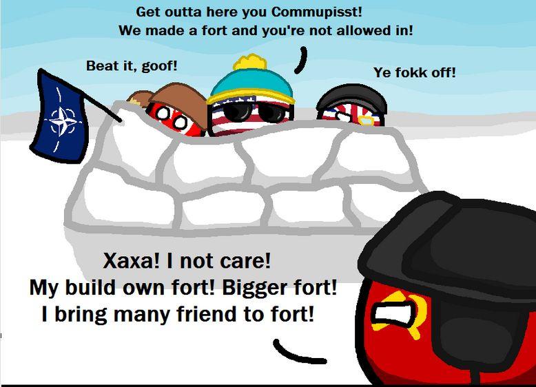 とっても冷たい戦争 (1)