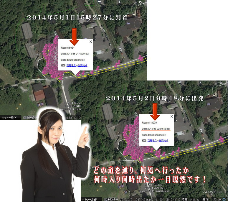 GPS温泉宿