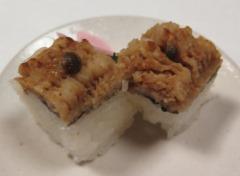 9)おいしい鱧寿司