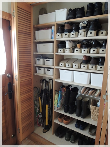 靴箱before