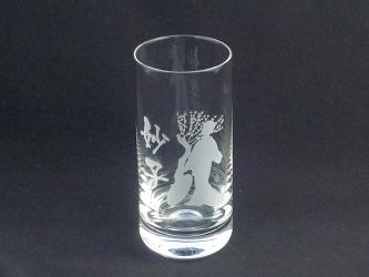 名入れ彫刻グラス