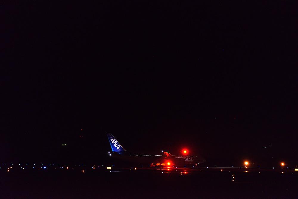 熊本空港B787