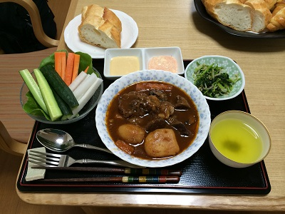楽ワザ介護勉強会昼食11/29