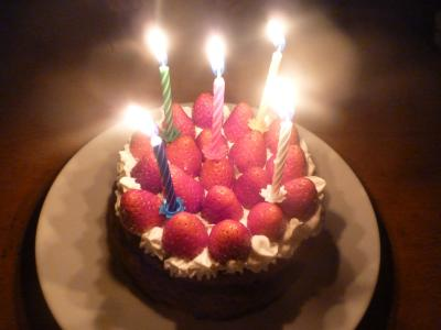 王子5歳誕生日②