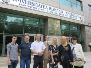ロマナ・アメリカン大学到着
