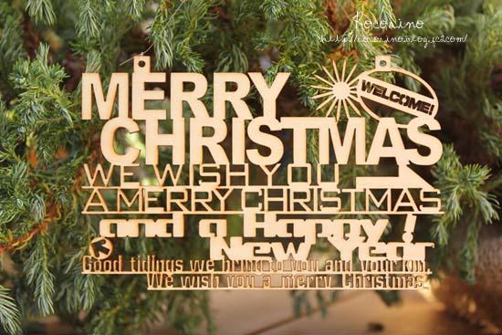 クリスマス文字1