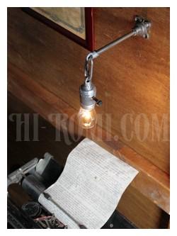 ヴィンテージ工業系ウォールランプ兼用ペンダントライトアンティークインダストリアル照明ブラケット
