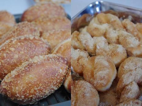 黄金パン・カレーパン・イーストドーナツ