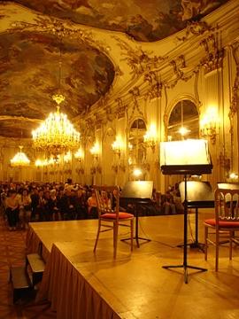 コンサートシェーンブルン宮殿の