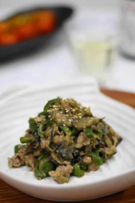 たっぷり夏野菜の肉味噌2