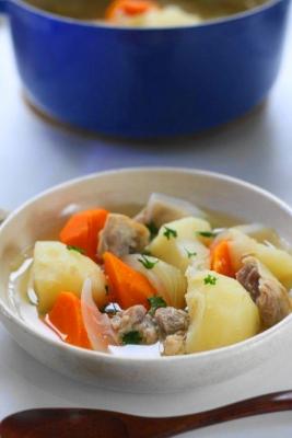 鶏肉と常備野菜の塩麹ポトフ1