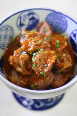 砂肝と玉ねぎのピリ辛やわらか煮2