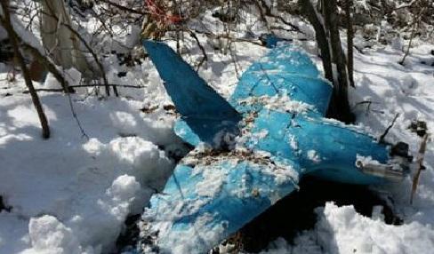 三陟市に墜落した北朝鮮製無人偵察機