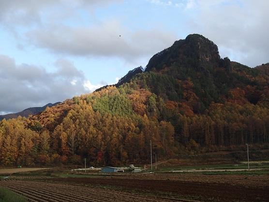 川上村の岩峰