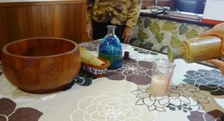 八重山美ら味堂:ぶくぶく茶体験1