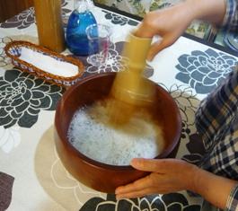八重山美ら味堂:ぶくぶく茶体験3