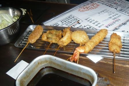 串かつ屋台きんぱち:海鮮セット