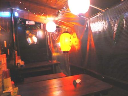 串かつ屋台きんぱち:店内