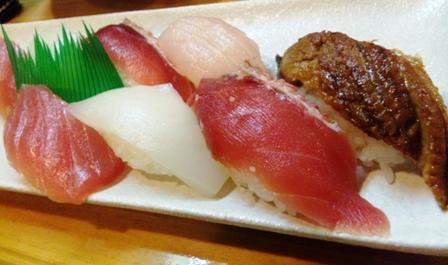 石垣島:寿司盛り8貫