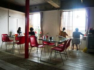 10息子達の石垣観光:竹富島;ハーヤナゴミカフェ
