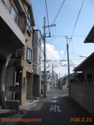 昭和町4前面道路1