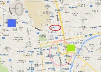 札幌周辺地図