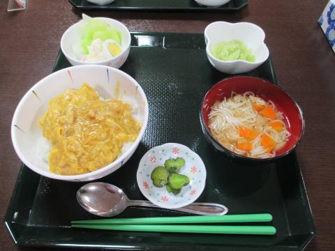 本日の昼食(^・^)