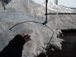 雪庇落し器具