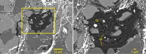 Jadeite in Chelyabinsk meteorite