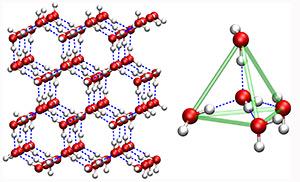 tetrahedron water
