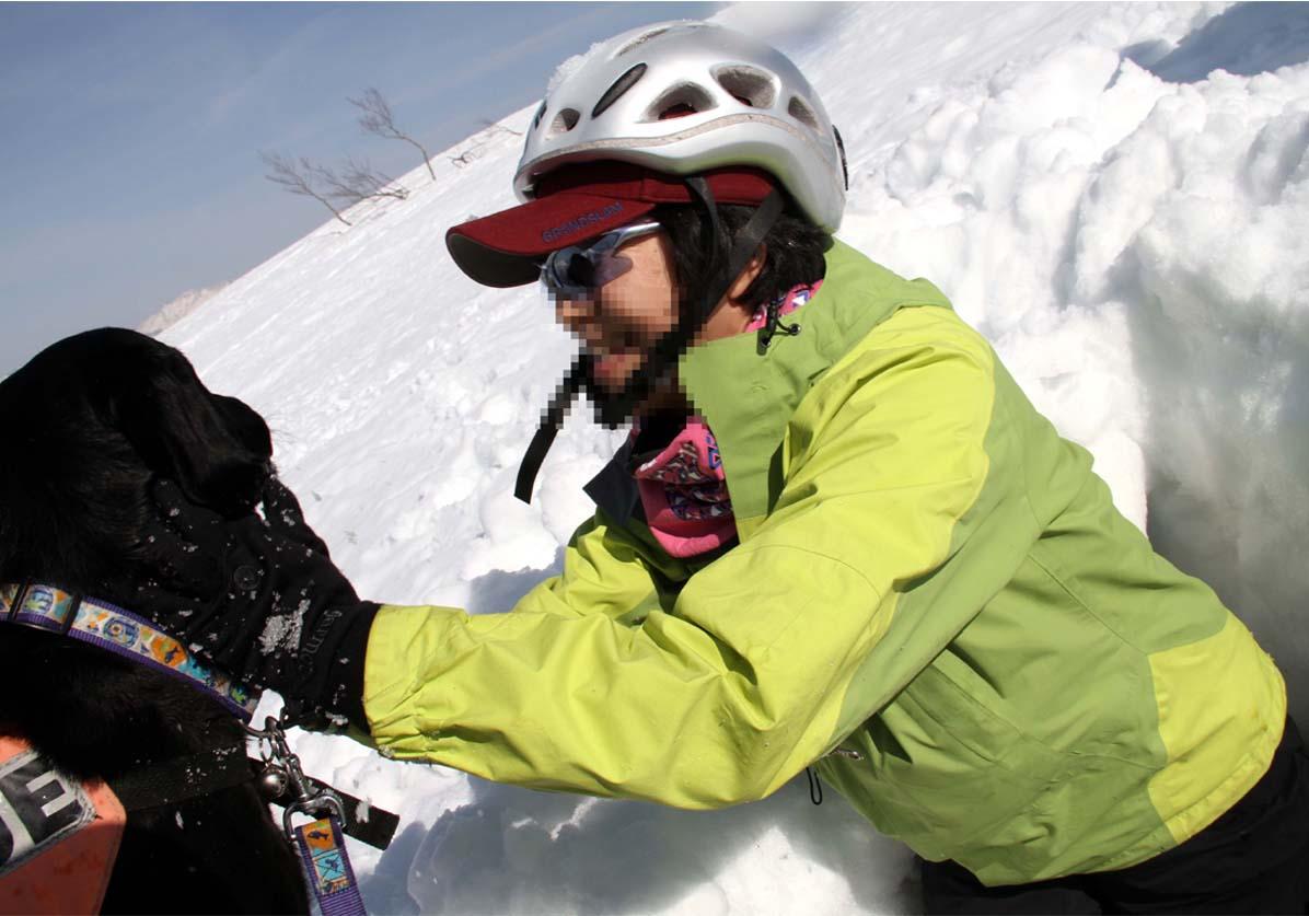 谷川岳雪中捜索訓練(64)